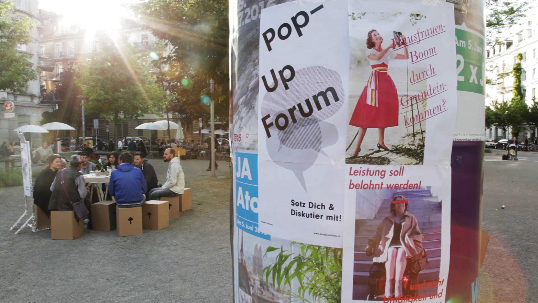 Pop-Up Forum,